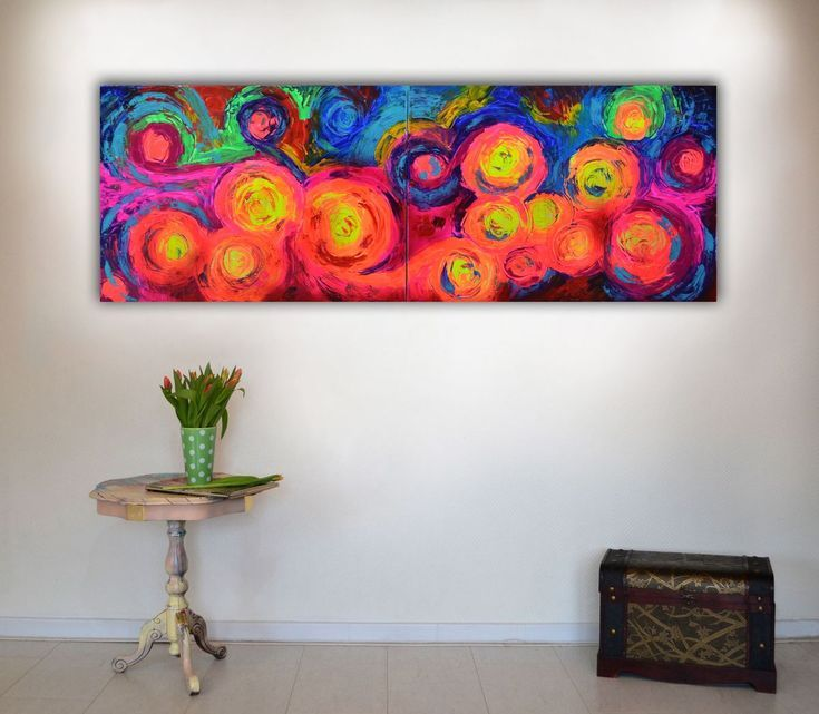 Buy Gypsy Dance 8 - 140x50 cm - Large Abstract, Supersized Painting - Ready to Hang, Hotel Wall Decor, Acrylic painting by Soos Tiberiu on Artfinder. Discover thousands of other original paintings, prints, sculptures and photography from independent artists.
