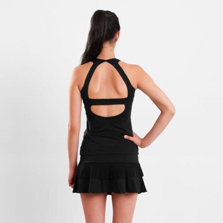 Musculosa Agatha vista de espalda. Para más detalles: http://www.tiendascrubs.com.ar/musculosas/musculosa-agatha1/
