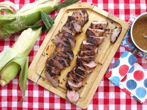 Southern Style Pork Tenderloin on Weelicious