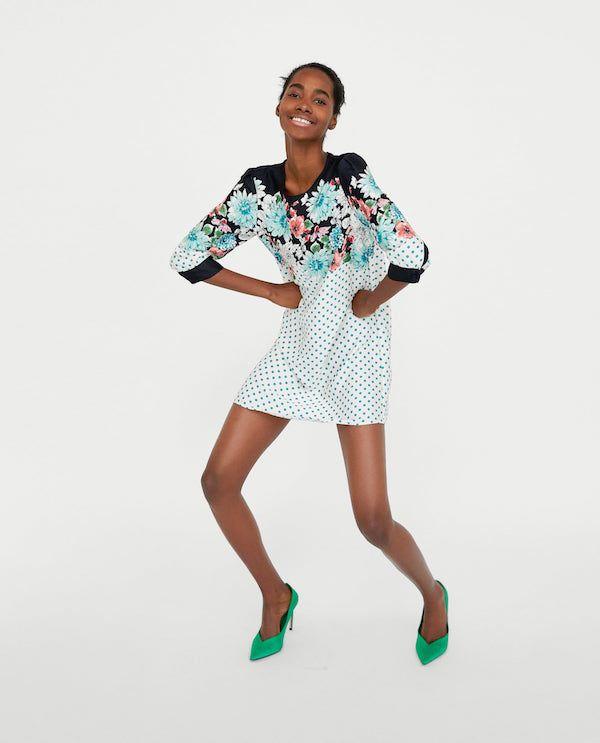 Catálogo Zara Primavera Verano 2020 Moda En Pasarela Moda Vestido Estampado Flores Tendencias De Moda