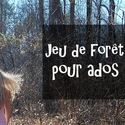 Jeu de forêt pour grand groupe d'ados : le porteur de trésor !