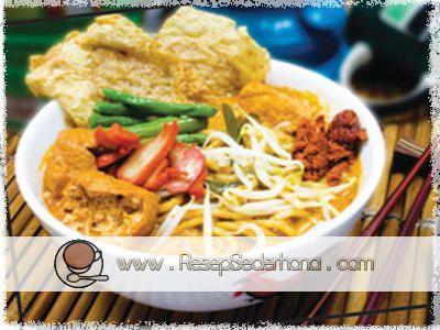 Mie Kari Vegetarian | Dapur Kuliner