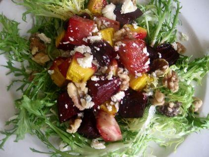 Σαλάτα με ψητά παντζάρια - gourmed.gr