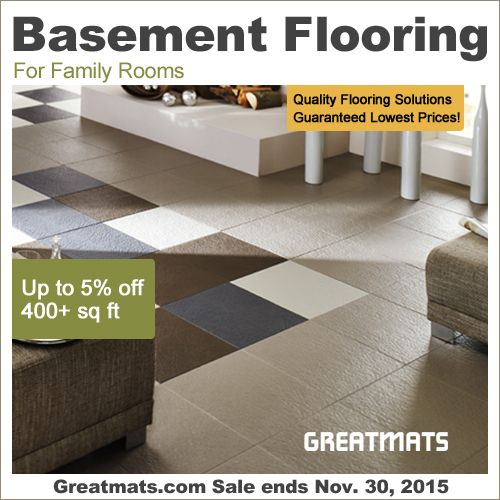 The Best Basement Flooring Options: 45 Best Images About Basement Flooring On Pinterest