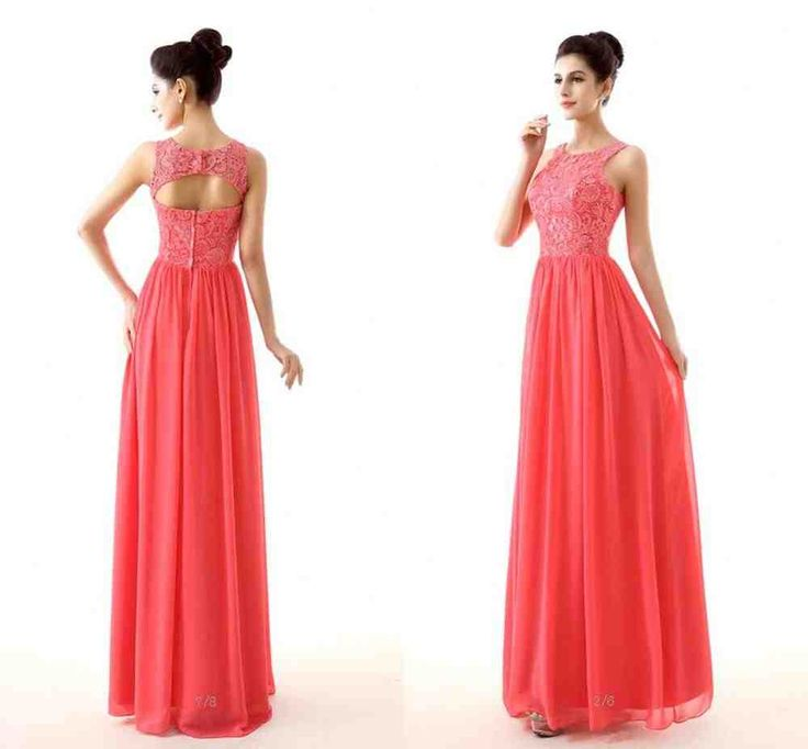 Best 20  Coral colored bridesmaid dresses ideas on Pinterest ...