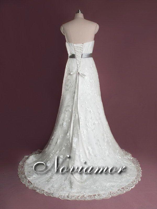 Informal Simple Corte Recoto Vestido de Novia SW1480 [SW1480] - €409.50 : Vestidos de Novia Baratos 2012, Trajes de Novia - NOVIAMOR