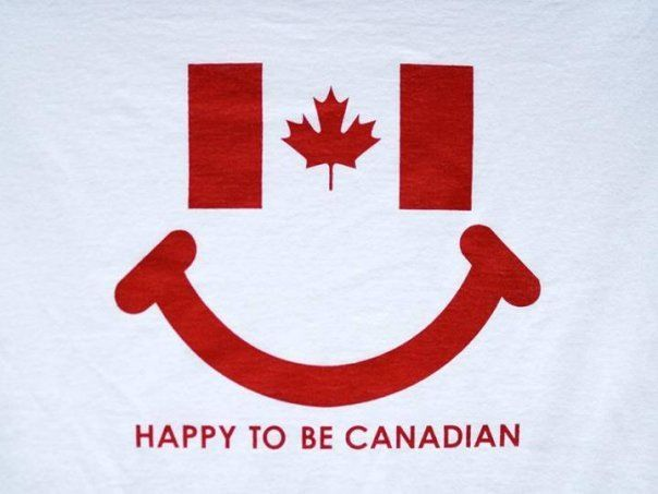 Happy to be Canadian