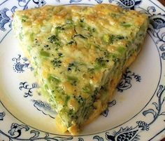 This Broccoli Quiche is wonderful.... I sometimes add chopped ham and that adds no carbs....We like this better than a quiche with a crust!