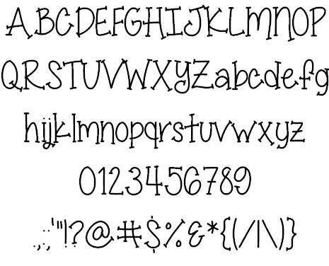 Miss Smarty Pants font by ByTheButterfly - FontSpace