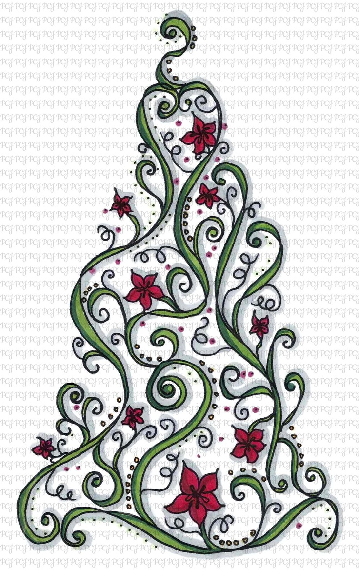 Google Image Result for http://www.papercraftjunkies.com/content/wp-content/uploads/2012/10/Doodle-Christmas-Tree-C.jpg