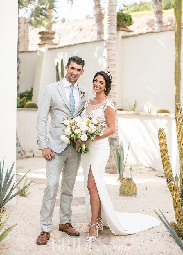 Michael Phelps And Nicole Johnson's wedding video is pure romance