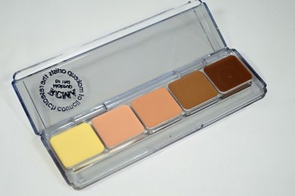 HIGHLIGHT AND CONTOUR PALETTE from RCMA these last all day on the skin and work beautifully #crueltyfree