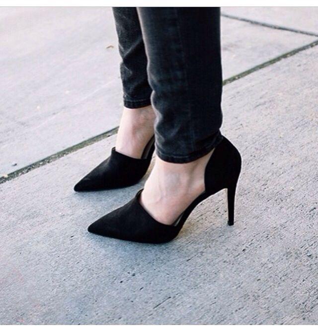 Wardrobe Staple: Black Heels