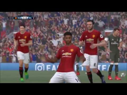 Man Utd vs AC Milan Like subscribe and leave a comment below for more videos. Other videos FIFA 17| Crystal Palace vs Everton| Full match gameplay https://www.youtube.com/watch?v=19S-_... Manchester United vs Monaco- FIFA 18 GOAL FEST!! https://www.youtube.com/watch?v=EoapO... Manchester United vs PSG- Counter Attack https://www.youtube.com/watch?v=pcmAi... Belgium vs France- Live PS4 Broadcast https://www.youtube.com/watch?v=EzeAh...