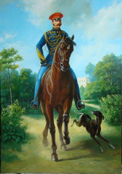 Харченко Иван Александр  II на коне
