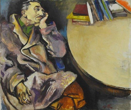 201. Uomo che fuma (Ritratto del pittore Garajo)
