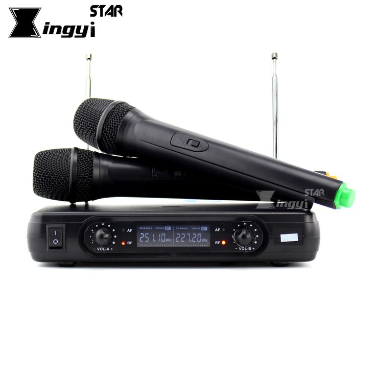 Free Shipping Wireless Microphone System Dual Handheld Cordless Mic With Receiver For Stage Singer Karaoke Mixer Audio Amplifier #Affiliate