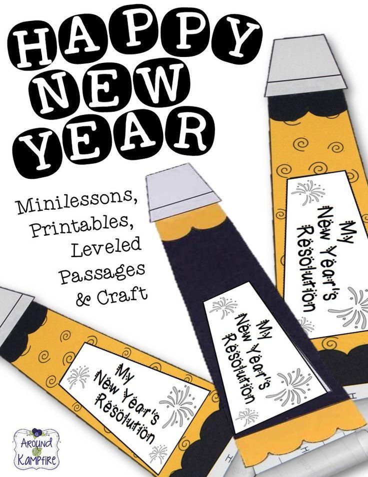 New Year's Resolution Classroom Activity
