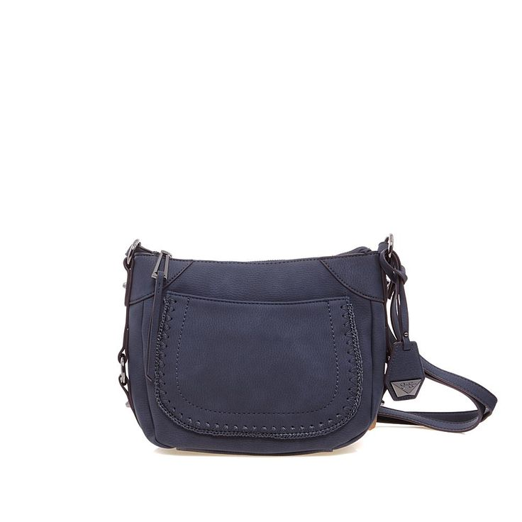 Jessica Simpson Kalani Crossbody with Whipstitching - Blue