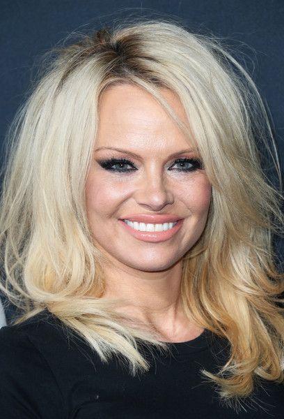 Pamela Anderson Photos - SAINT LAURENT At The Palladium Feb. 2016 - Arrivals - Zimbio