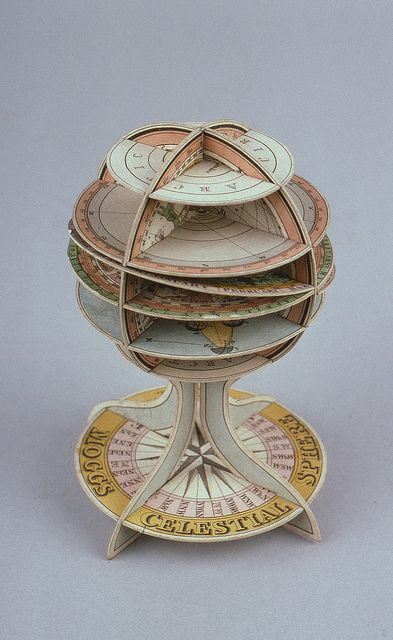 Dissected paper celestial sphere by Edward Mogg (Wh.5620), Whipple Museum of the History of Science