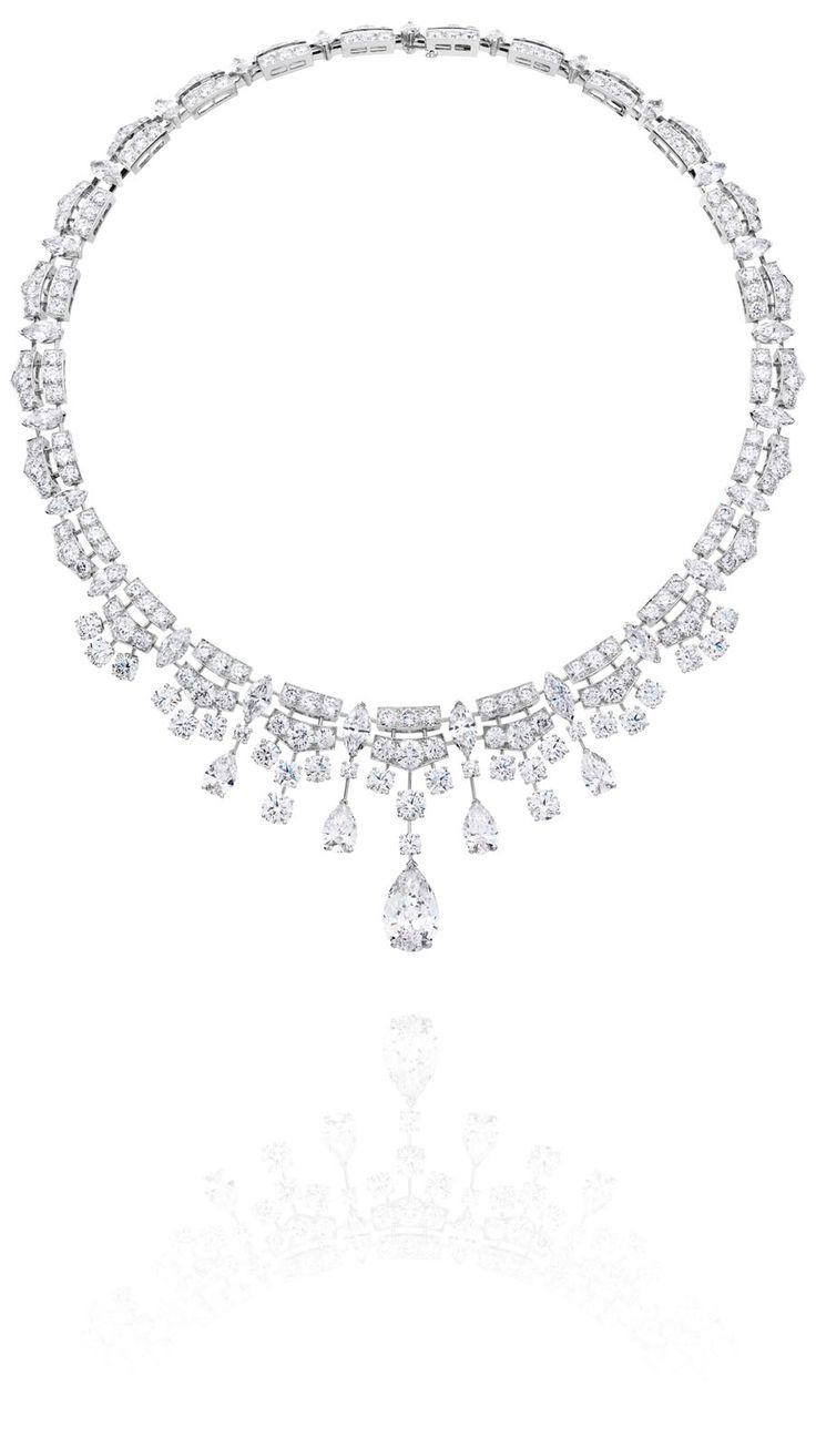 De Beers Phenomena Frost diamond necklace