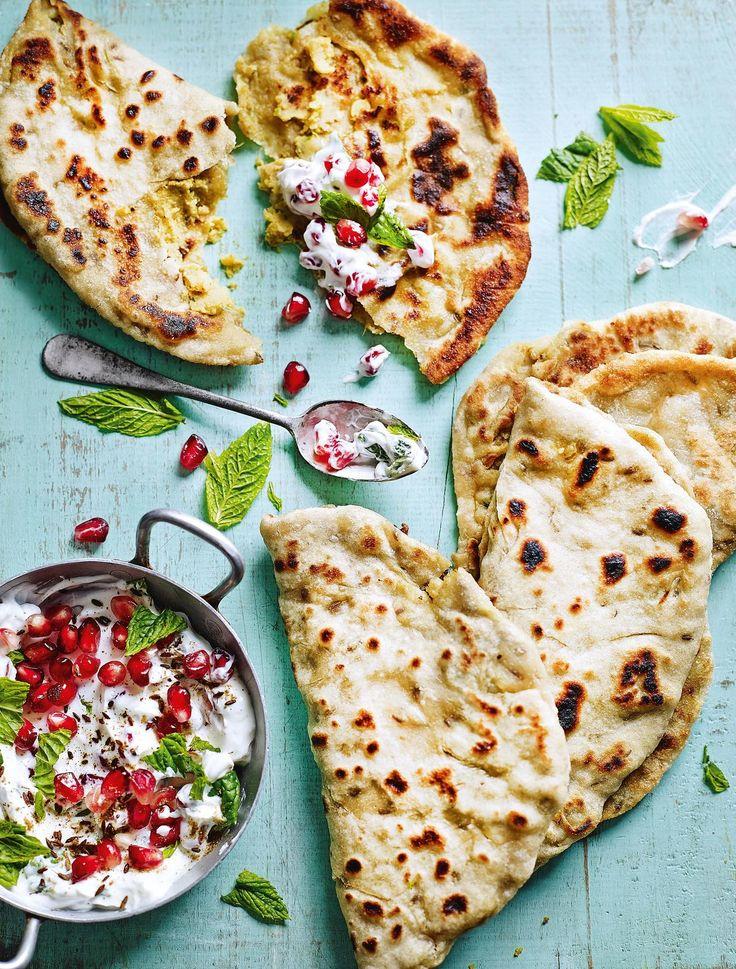 Aloo Paratha - Spicy Potato Bread - The Happy Foodie