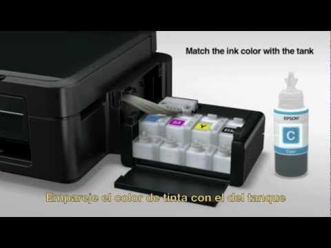 Tutorial de Epson para impresoras multifuncionales de tanque de tinta. Compra en línea y recibe en tu casa u oficina. http://tonermexico.mx/epson.html  Epson - Instalación del Sistema de Tanque de Tinta