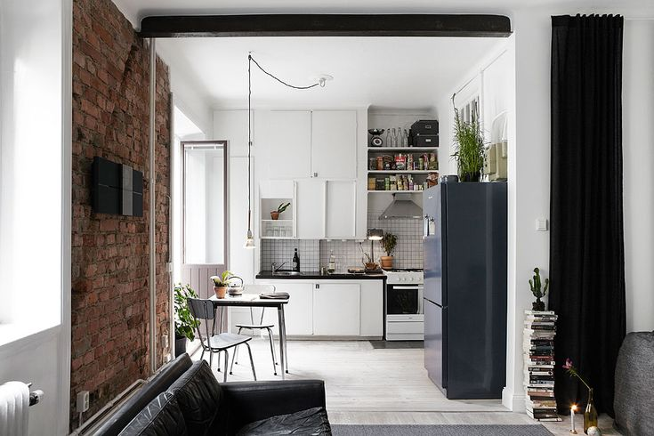 Kitchen Fantastic Frank via La Maison D'Anna G.