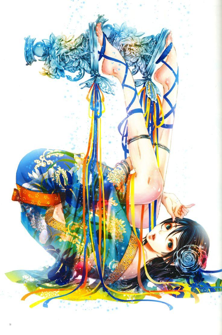Tags: Scan, Self Scanned, Tukiji Nao, Official Art, Adekan, Yoshiwara Shiro