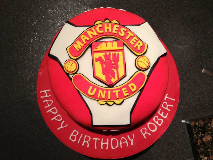 1000+ images about Man U cake on Pinterest Manchester ...
