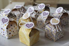 Kreativ mit Stempel und Papier: Anleitung Geschenkbox mit dem Envelop Punch Board
