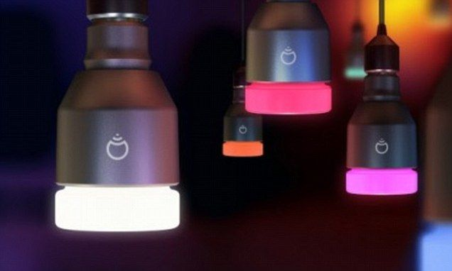 A light bulb promised to be the 'world's smartest energy efficient' bulb has raised $1.3 million in crowdfunding in just six days. It is brilliant how it works!