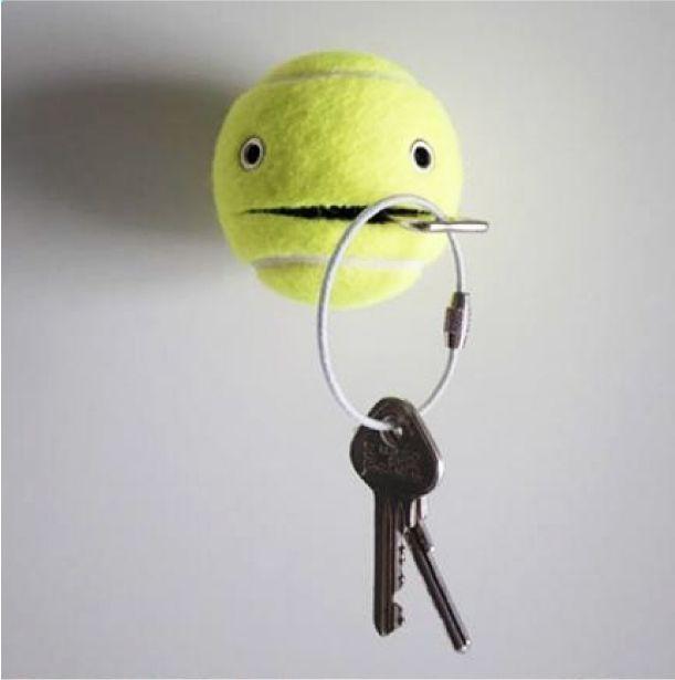 Comment recycler une balle de tennis !