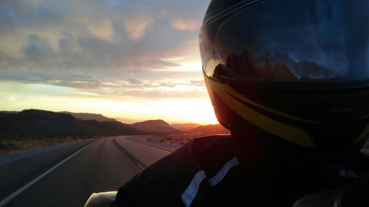 Motorcycle sunrise | moto | Pinterest | Motorcycles and ...