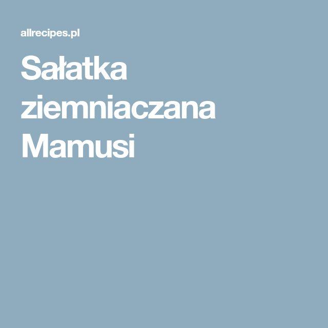 Sałatka ziemniaczana Mamusi