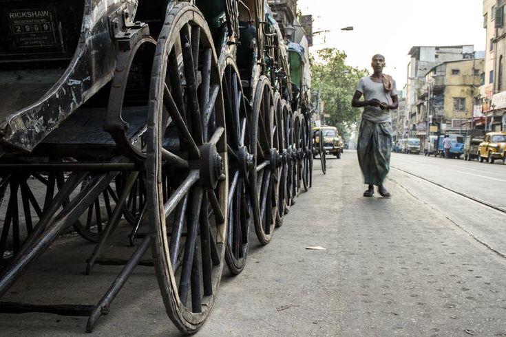 Rickshaw of Kolkata  by Titas Ghosh
