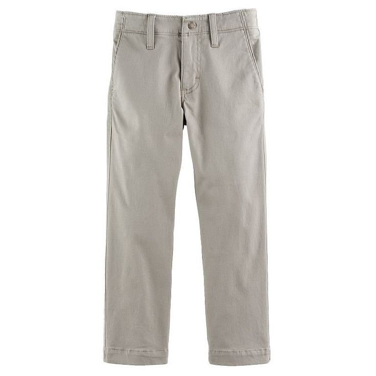 Boys 4-7x Lee Xtreme Slim Fit Chino Pants, Size: 4  Ave Med, Lt Beige