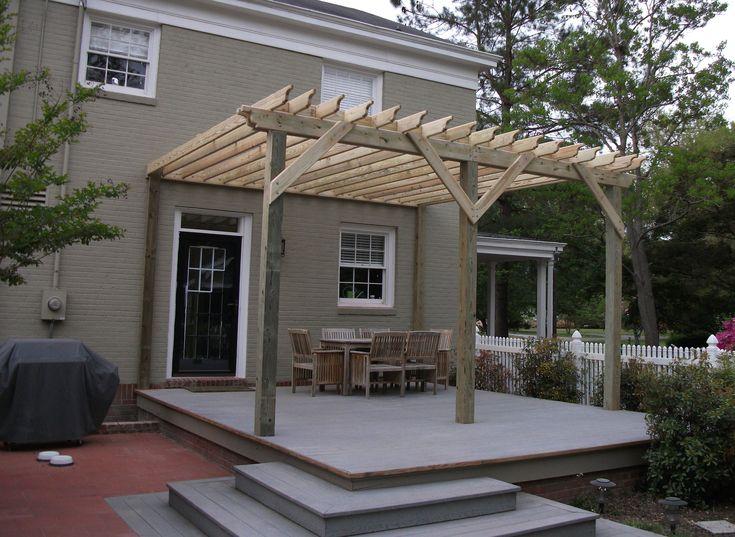 17 best pergola images on pinterest | backyard pergola, pergola ... - Patio Shade Structure Ideas