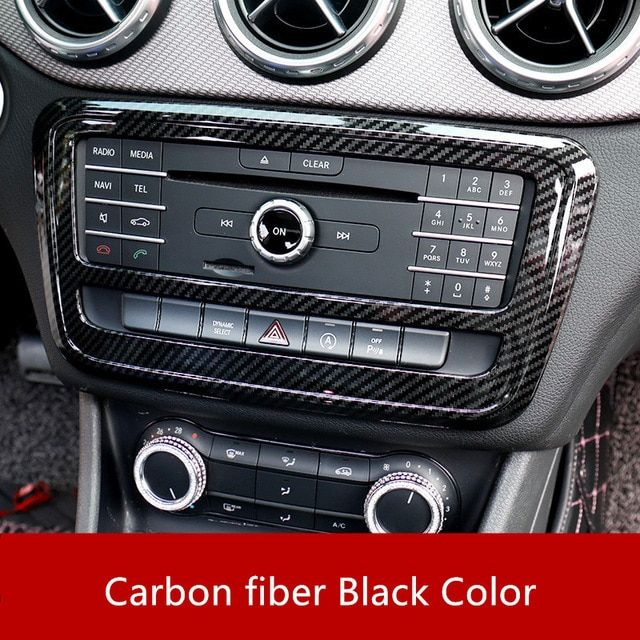 4pcs Interior Audio Door Speaker Cover Trim For Mercedes Benz GLA X156 CLA C117