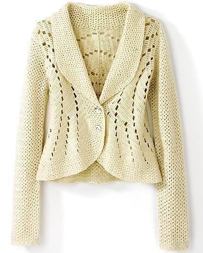 jacket, crochet