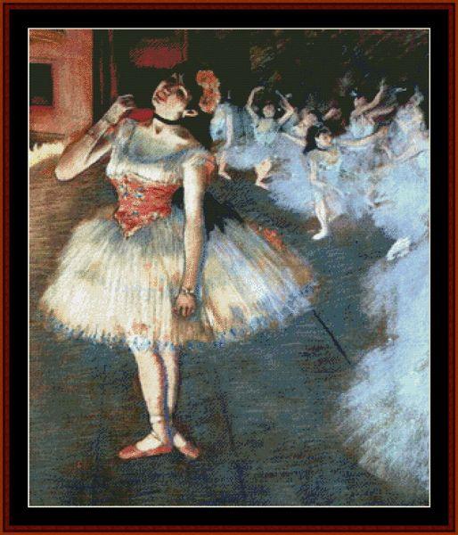 Jan Hagara Lithograph: 99 Best Degas, Edgar Cross Stitch Patterns By Cross Stitch