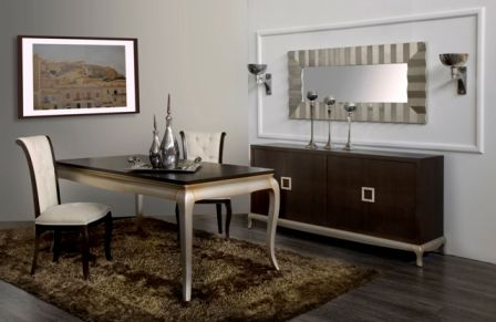 Casa Ampia-τραπεζαρία Ilia-τραπέζι-καρέκλα-μπουφές-dining table-έπιπλα-διακόσμηση σπιτιού