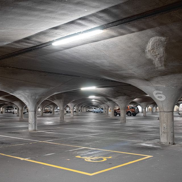 Melbourne University Underground Southern Car Park | Flickr - Photo Sharing!