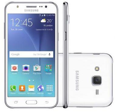 Samsung Galaxy J5 Duos Dual Chip 4G Tela 5 Câmera 13MP + Frontal 5MP com Flash 16GB >