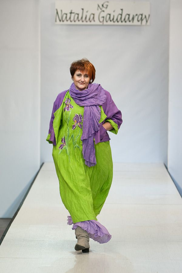 "The colour! - Belarus Fashion Week. This strange ""fashion""."