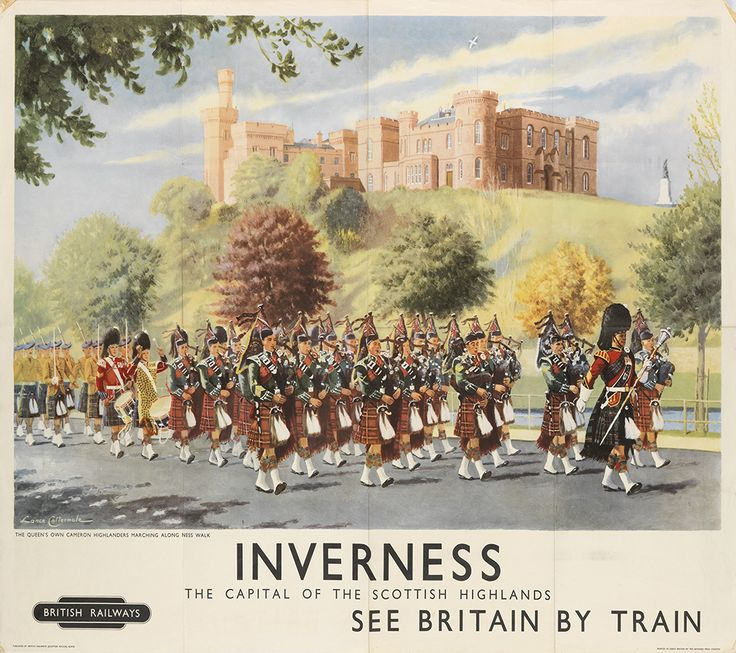 LANCE CATTERMOLE (1898-1922) INVERNESS / THE CAPITAL OF THE SCOTTISH HIGHLANDS. Circa 1955