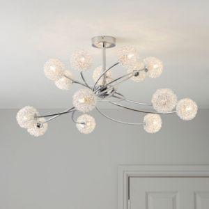 Flush & Semi Flush Lighting | Ceiling Lights | Indoor Lighting | Lighting | Departments | DIY at B&Q