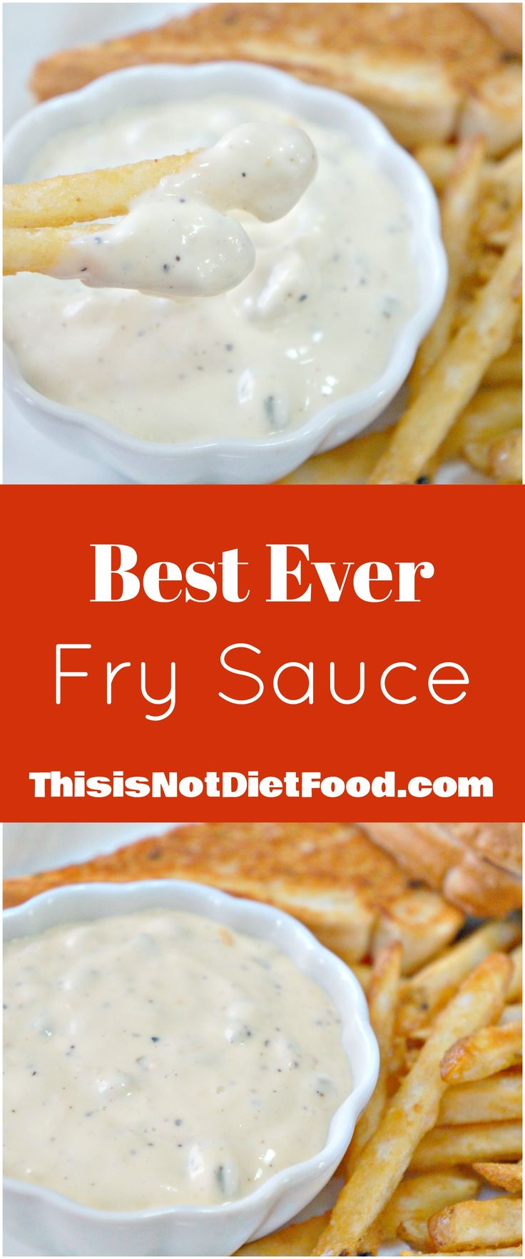 French Fry Dipping Sauce. Mayo and coleslaw dressing come together with other ingredients to make this tasty sauce. Easy sauce recipe.