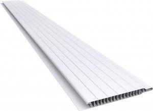 Plasbil Revestimentos : Produtos : Forros de PVC : Forro PVC 100 Nobre Frisado 10mm